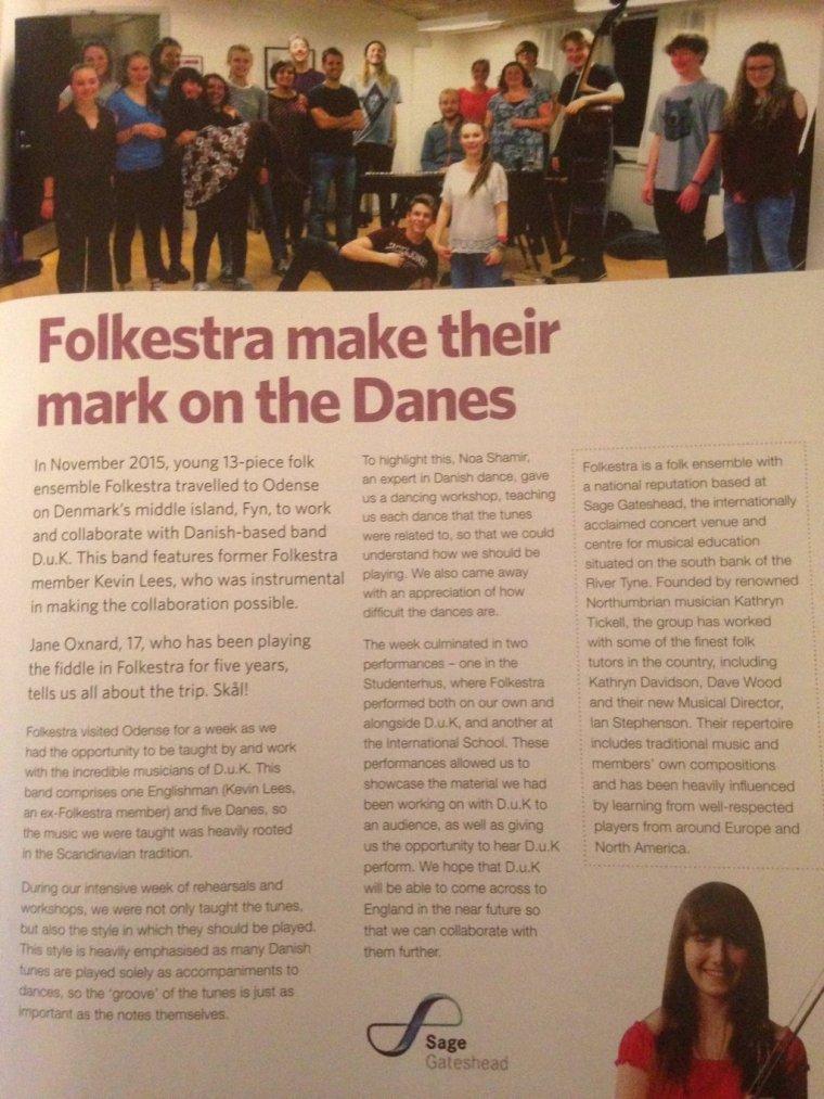EFDSS Folkestra